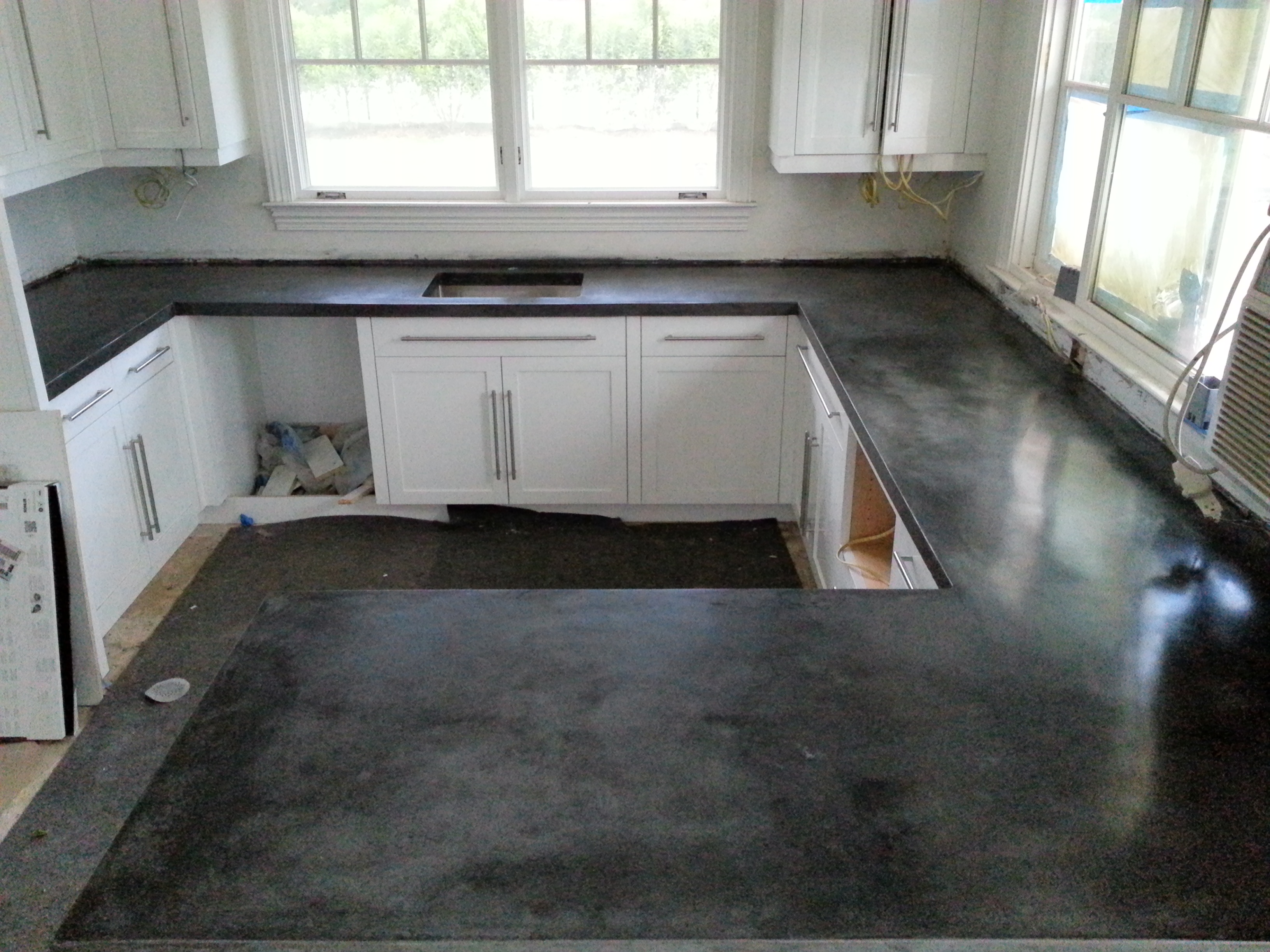 Cast In Place Concrete Countertops : Cast in place red neck… post scriptum remik s